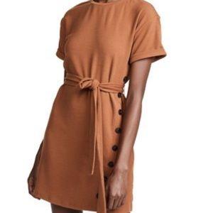 J. O. A. Medium Brown Casual Dress